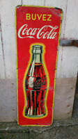 ANTIQUE COCA-COLA TIN SIGN