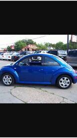 Beetle blue 2.0, 86,000 mile. 2002,