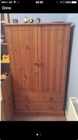 Junior wardrobe solid wood
