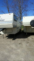 1988 sprinter 28 Foot 5th wheel