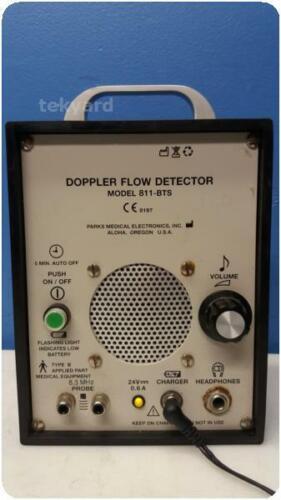 PARKS MEDICAL ELECTRONICS 811-BTS ULTRASONIC DOPPLER FLOW DETECTOR % (276459)