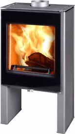 Contemporary wood burner, wood burning stove 8kw-collect Horwich, Bolton £799