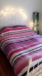 Housse de lit queen et ou double Roxy