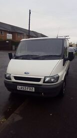 Ford transit very low mileage