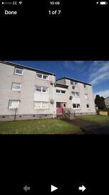 2 bed flat £450 Lanark