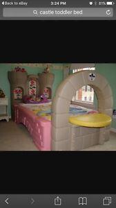 Princess castle toddler bed St. John's Newfoundland image 1