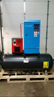 5hp 575v Tank Mounted Hydrovane Air Compressor With Dryer