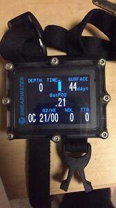Dive computer shearwater petrel
