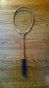 Antique Slazenger Canadian Army Badminton Racquet