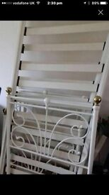 French Style Shabby Chic Single Bed