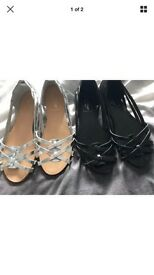 Brand new with tags two pair of miss Selfridge shoes
