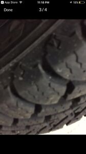 Almost brand new winter tires (185/65/R15) London Ontario image 2