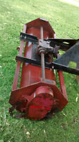 howse 62 inch tractor 3 point hitch rototiller