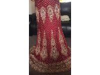 Lengha/bridal wedding dress /Indian Pakistani suite/ brides