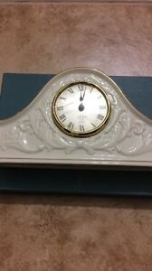 Lenox Fine China Ivory Chippendale Mantle Clock 24kt London Ontario image 1