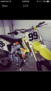 NEW 2015 RMZ 450. Very low hours used !
