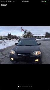 2005 Acura MDX low km with remote start