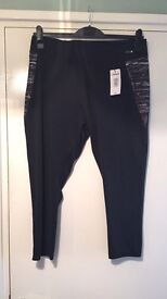 Papaya Active size large gym bottoms brand new with tags R.R.P £12