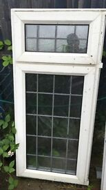 Double glazed leaded window for sale 635 x 1360 mm
