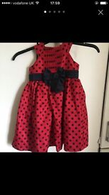 Two party / Christmas dresses 3-4 years
