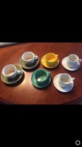 Expresso cups. (6)