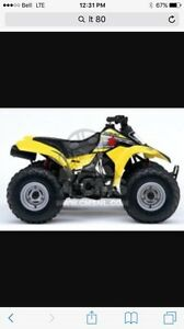 Looking for kids ATV 50-90cc
