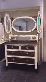 Old Style Dressing table with mirrors