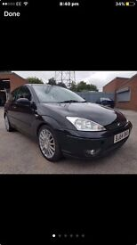 Ford Focus st170 breaking