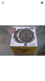 Brand new vibe black air speakers - 6.5 inch 270 watts