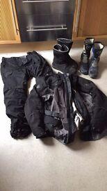 Job lot of used motorbike gear
