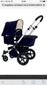 Bugaboo Cameleon 3 limited edition Navy classic immaculate
