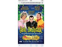 1 ticket for jack and the beanstalk Wednesday 7pm