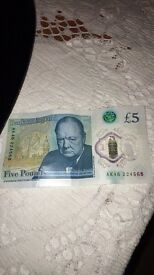 I sell my £5 pounde note