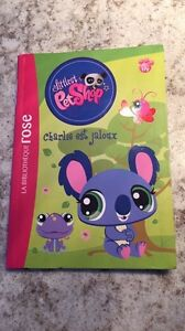 NEW FRENCH BOOK  - PET SHOP Storybook!!