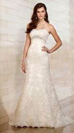Essense of Australia wedding dress D1398 size 16-18