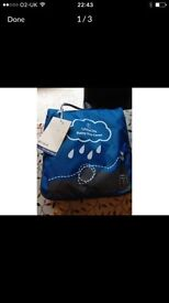Little life baby carrier and raincover