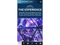 Crystal Maze experience ticket