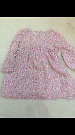 Next 12-18 floral summer dress