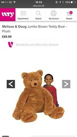 Melissa and Doug giant teddy