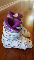 Nordica girls ski boot, brand new, never worn, size 22.5