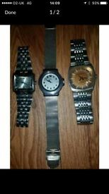 3 designer watches