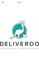£10 off Deliveroo - code: tatjanap8461 - no purchase required