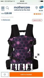 Mothercare baby sling