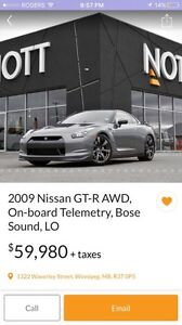Wanted Nissan GT-R