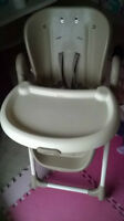 99% new High chair purchased from Costco, paid $120+