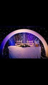 Crystal Arch Backdrop