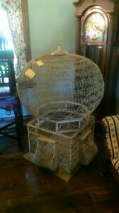 Aviary Victorian Vintage c1895 RARE bird cage ANTIQUE