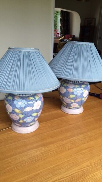 2 Matching Table lamps