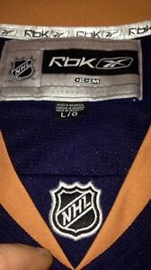 Edmonton Oilers NHL hockey reebok jersey size large brand new London Ontario image 3