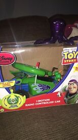Remote controlled car from toy story